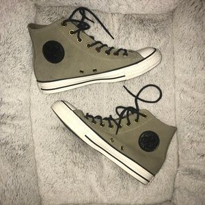 Converse Shoes - 🌸SOLD🌸LIKE NEW Converse suede-like material